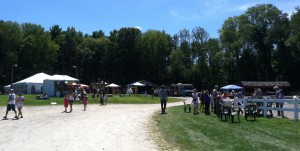 A beautiful day for Fun Day at French Park!