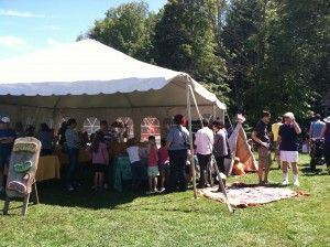 A lively crowd enjoyed sunny skies and a wide variety of activities at Fun Day!