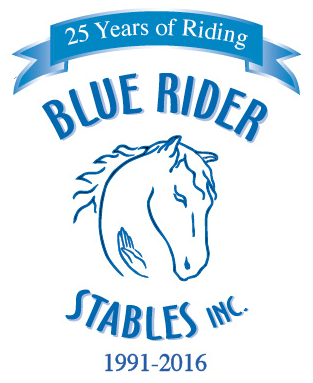 Blue Rider logo with banner